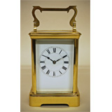 Full size Carriage Timepiece (Non Striking) 18.5cm tall, c1910
